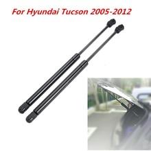 2 sztuk samochodów tylna szyba okienna sprężyna gazowa Shock Lift Strut Struts wsparcie Bar Rod dla Hyundai Tucson 2005 2006 2007 2008 2009   2012