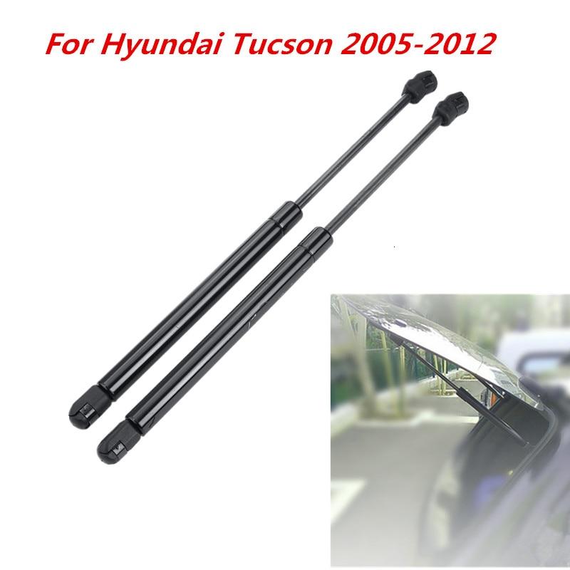 2Pcs Car Rear Window Glass Gas Spring Shock Lift Strut Struts Support Bar Rod For Hyundai Tucson 2005 2006 2007 2008 2009 - 2012
