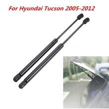 Support de barre pour vitre arrière de voiture, 2 pièces, ressort de choc, barres de suspension, pour Hyundai Tucson 2005, 2006, 2007, 2008, 2009, 2012