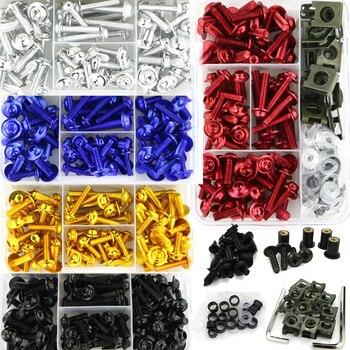 Motorcycle Full Fairing Bolts Kit Screws For YAMAHA FZ1 FZ6 FZ8 MT01 MT-125 MT07 MT-07 FZ-07 MT09 FZ-09 MT10 MT15 XJR400 XJR1300