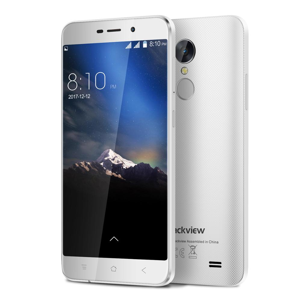 Blackview A10 <font><b>Smartphone</b></font> 2GB RAM 16GB ROM MT6580A Quad Core <font><b>Android</b></font> <font><b>7.0</b></font> 5.0inch 18:9 Screen 3G Dual SIM Mobile Phone image