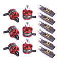 Readytosky 40A 2 4S Brushless ESC con 5 V/3A BEC + 2212 920KV CW CCW Brushless motore per S500 X500 X525 Quadcopter Multicopter