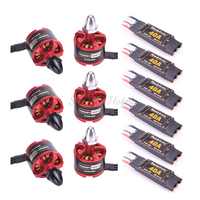 Readytosky 40A 2 4S Brushless ESC with 5V/3A BEC + 2212 920KV CW CCW Brushless Motor for S500 X500 X525 Quadcopter Multicopter