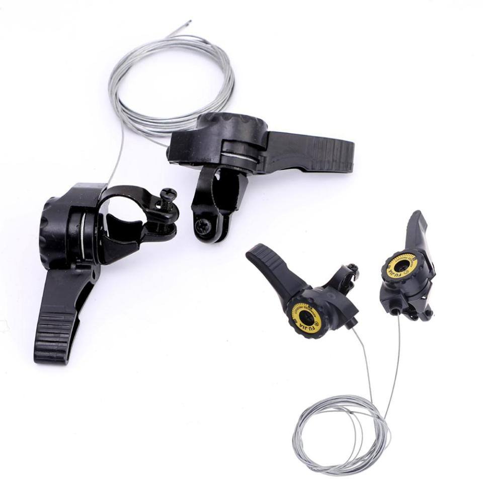 Speed Bike Thumb Shifter 15S//18S//21S Top Mount Shift Rear Derailleur Cable