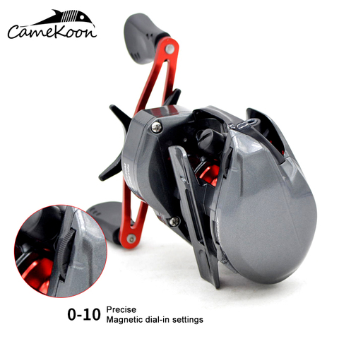 roda de pesca com freio magnetico bobina pesca carpa