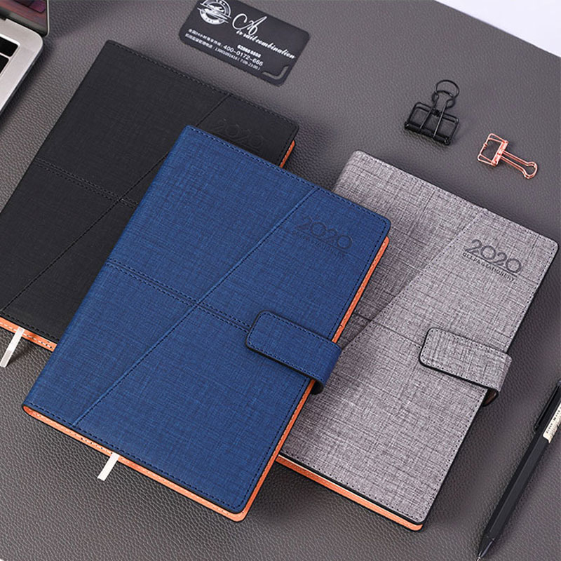 European Style Agenda 2020 Time Manage A5 Thicken 360 Pages Notebook Fashionable Agenda 2020 With Monthly Goal And Daily Plan