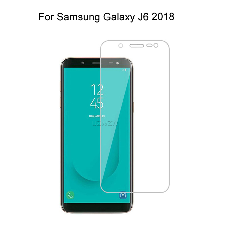 For Samsung Galaxy J6 2018 2.5D Premium Tempered Glass Screen Protector Protective Glass For Samsung Galaxy J6 2018 Glass