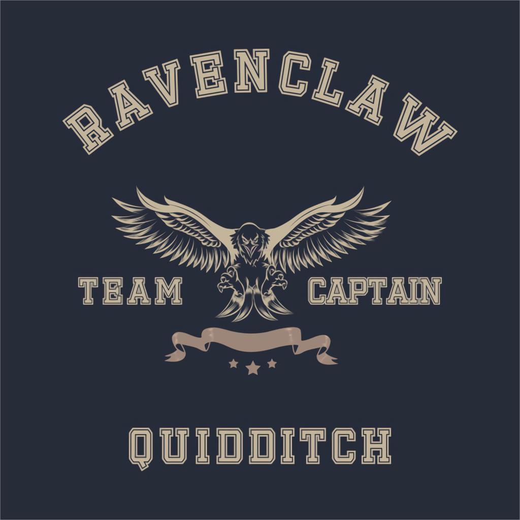 Tee Tops Ravenclaw Quidditch Team Captain T-Shirt  Men And Women Shirt