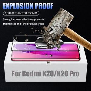 Image 3 - 6D полное клеевое Покрытие Закаленное стекло для Xiaomi Poco X3 F2 Pro Redmi 9 K30 ультра стекло для Mi 10T 9T Redmi Note 9 8 Pro Max 8 8T 9S