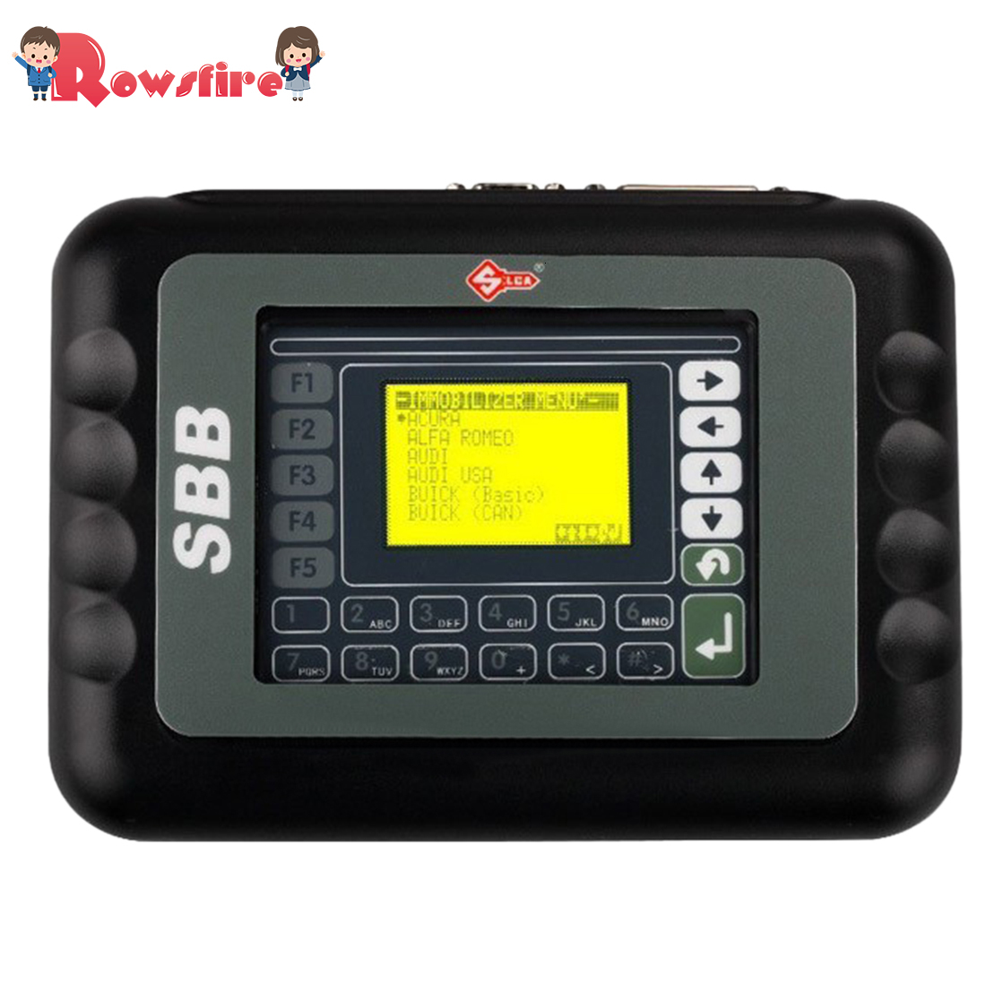 SBB V33.02 Key Programmer Immobilizer Tool For Car - EU Plug Black