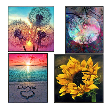 Meian Special Shaped art flowers Tree dotz 5d diy diamond painting set embroidery cross stitch kit Crystal drill new arrivals - discount item  48% OFF Arts,Crafts & Sewing