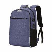 USB charging backpack backpack laptop bag college students' leisure outdoor backpack