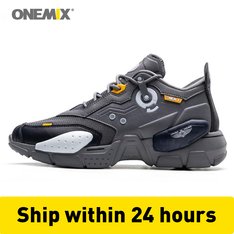 ONEMIX Super Men Sneakers Technology Trend Damping Boy Basketball Sport Shoes Trainers Casual Running Shoes Jogging Sneakers