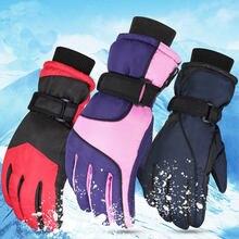 Зимние лыжные перчатки для мужчин и женщин 24 цвета ветрозащитные