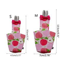 Parrot Diaper with Bowtie Cute Colorful Fruit Floral Cockatiel Pigeons Small Med