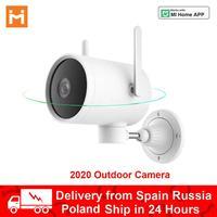 Cámara IP N1 para exteriores, videocámara de seguridad Ptz Mijia WiFi, Monitor inteligente CCTV IP66, impermeable, gran angular, almacenamiento en la nube, aplicación para hogares, 2020