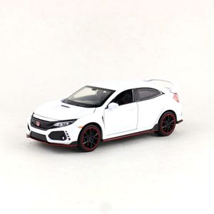 Image 3 - 高シミュレーション絶妙なdiecastsおもちゃ車: miniauto車スタイリングホンダシビックタイプr 1:32合金ダイキャストモデルベストギフト