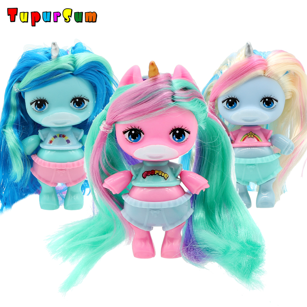 Original Lols Doll Figure Action Toy LolS Surprise Poopsies Silcone Slime Unicorn BJD Sister Dolls Toy For Girl Children Gifts