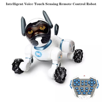 Voice Controlled Smart Robots Dog Voice Dialogue Children's Educational Toy RC Robot Dog Singing Dancing Robot Toys For Children