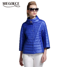 MIEGOFCE 2019 New Spring Short Jacket Women Fashion Coat Padded Cotton Jacket Outwear High Quality Warm Parka Womens Clothing