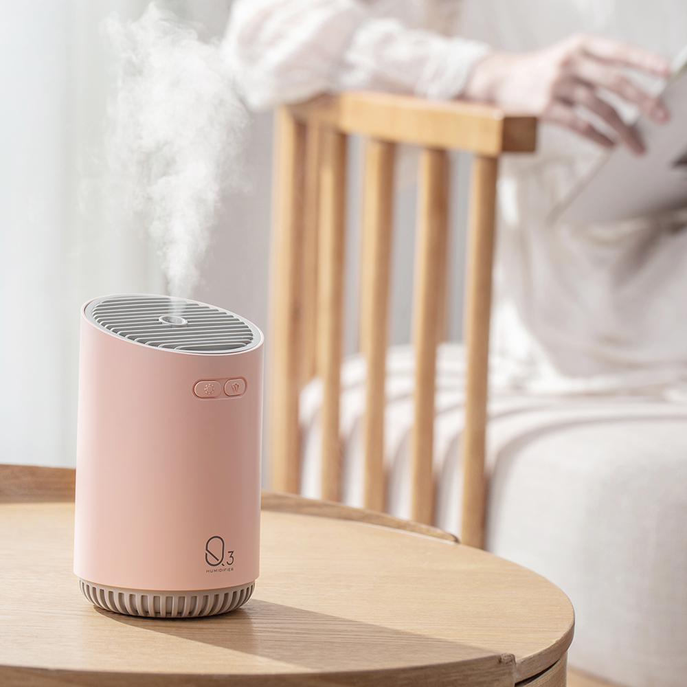 Image 5 - 320ML Wireless Air Humidifier With 2000mAh Battery Cool Mist Ultrasonic Electric Essential Oil Diffusers Aromatherapy Diffuser-in Humidifiers from Home Appliances