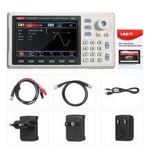 Profissional utg932e gerador de forma de onda 30mhz dds duplo canal gerador de sinal contador 200msa/s 14bits medidor de freqüência