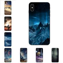 Scifi Landscape Abstract 3d Soft Silicone Case For Xiaomi Redmi Note 3 3S 4 4A 4X 5 5A 6 6A 7 7A K20 Plus Pro S2 Y2 Y3(China)