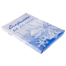 Бумага А4, 250 листов «Снежинка»
