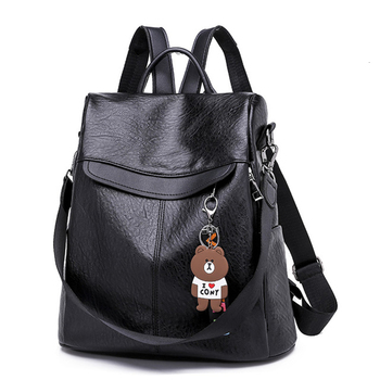New Anti Theft Backpack Women Bags Multifunction Female Backpack Girls Schoolbag 2019 Travel Backpack Leather Women Sac A Dos fashion genuine leather backpack women 2019 sac a dos schoolbag for teenage girls waterproof bag travel purse female brand