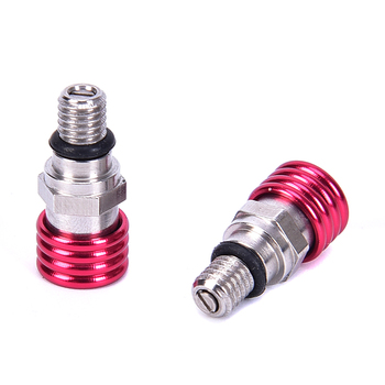 New Hot sale 2pcs/set M5x0.8 Fork Air Bleeder Valve For CR 80 85 125 250 500 CRF 250R 250X 450R 450X 250RX 450RX image