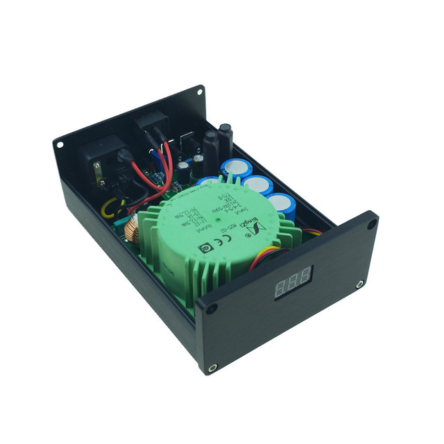 HIFI AUDIO Ultra-Low Noise linear power supply 25VA LPS output DC 12V 2A, provide clean power for upgrade your device