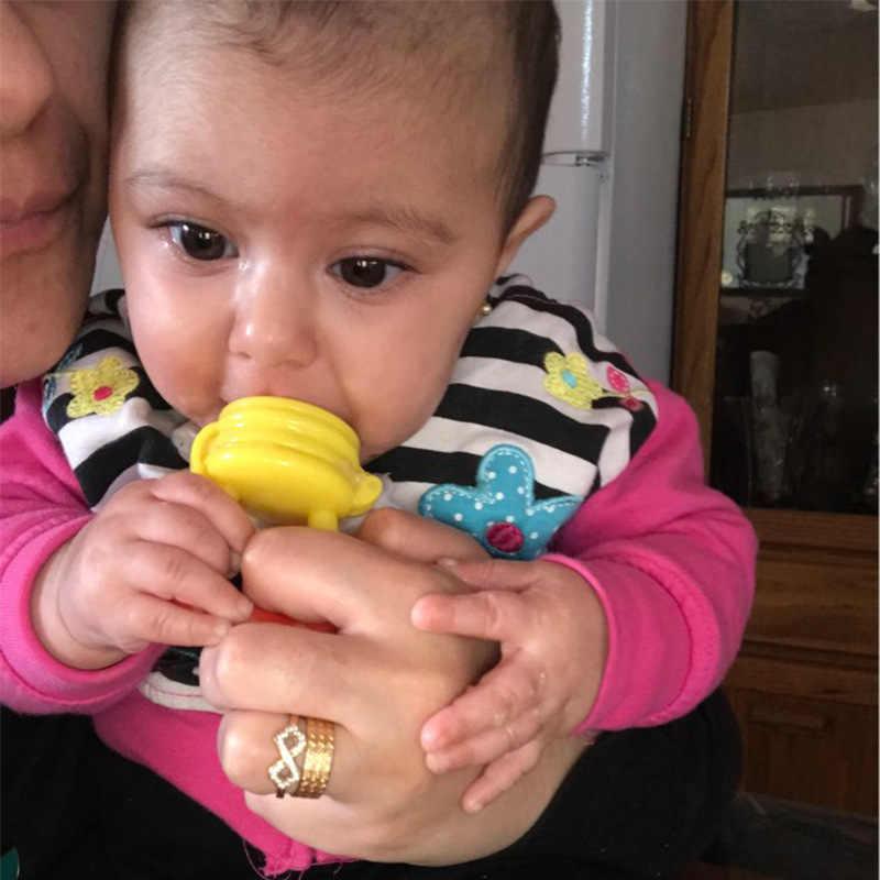 1 قطعة مصاصة الطفل الرضيع الحلمة مهديء طفل أطفال مصاصة التغذية للفواكه الغذاء القضم دمية تغذية الطفل مصاصة
