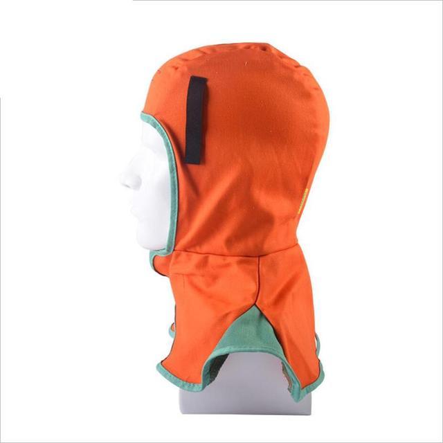 Welding Flame Retardant Head Neck Protective Cotton Hood Welder Head Cap Safety