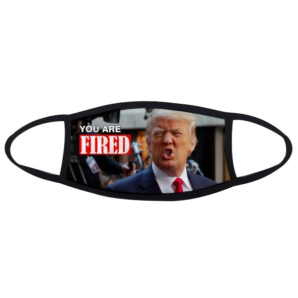 American President Trump Funny Interesting Angry  You Are Fired Ridiculous Spoof Meme Image Face Anti-dust Mask Anti Cold Maske