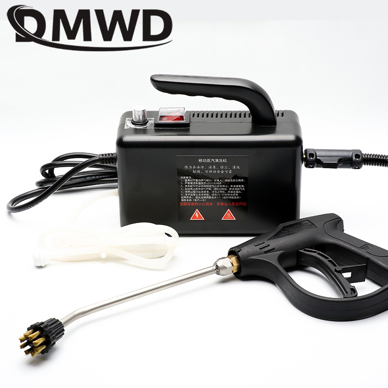 DMWD High Temperature High Pressure Mobile Cleaning Machine Steam Cleaner Automatic Pumping Sterilization Disinfector 2600W 1.8M