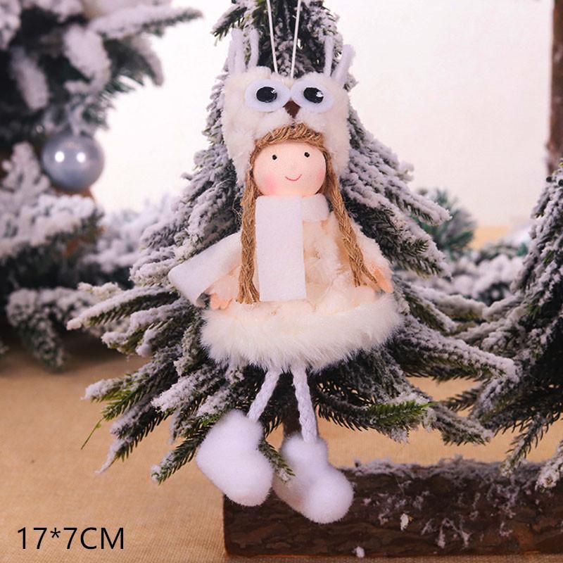 2020 New Year Gift Cute Christmas Angel Doll Xmas Tree Ornament Noel Deco Christmas Decoration for Home Natal Navidad 2019 Decor 18