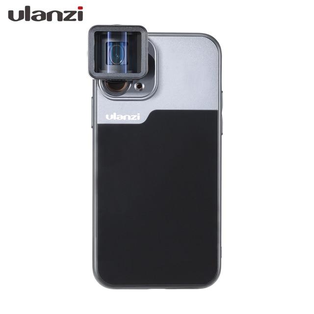 Ulanzi funda de teléfono para iPhone, protector de móvil para iPhone 8P X XS XR 11 Pro Max Samsung S10 Note10 Plus HUAWEI P30 Mate30 Pro Google PixeL 4 4XL Oneplus 7pro