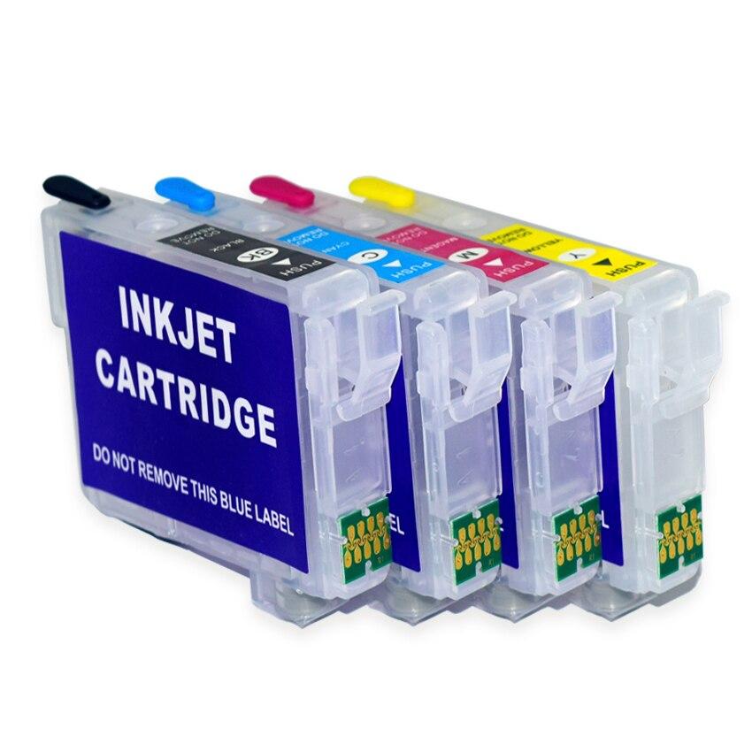 Refill Inkt Cartridge Voor Epson 603XL T603XL 603 T603 Voor Epson WF-2810 WF-2830 WF-2835 WF-2850 Met Arc Chip