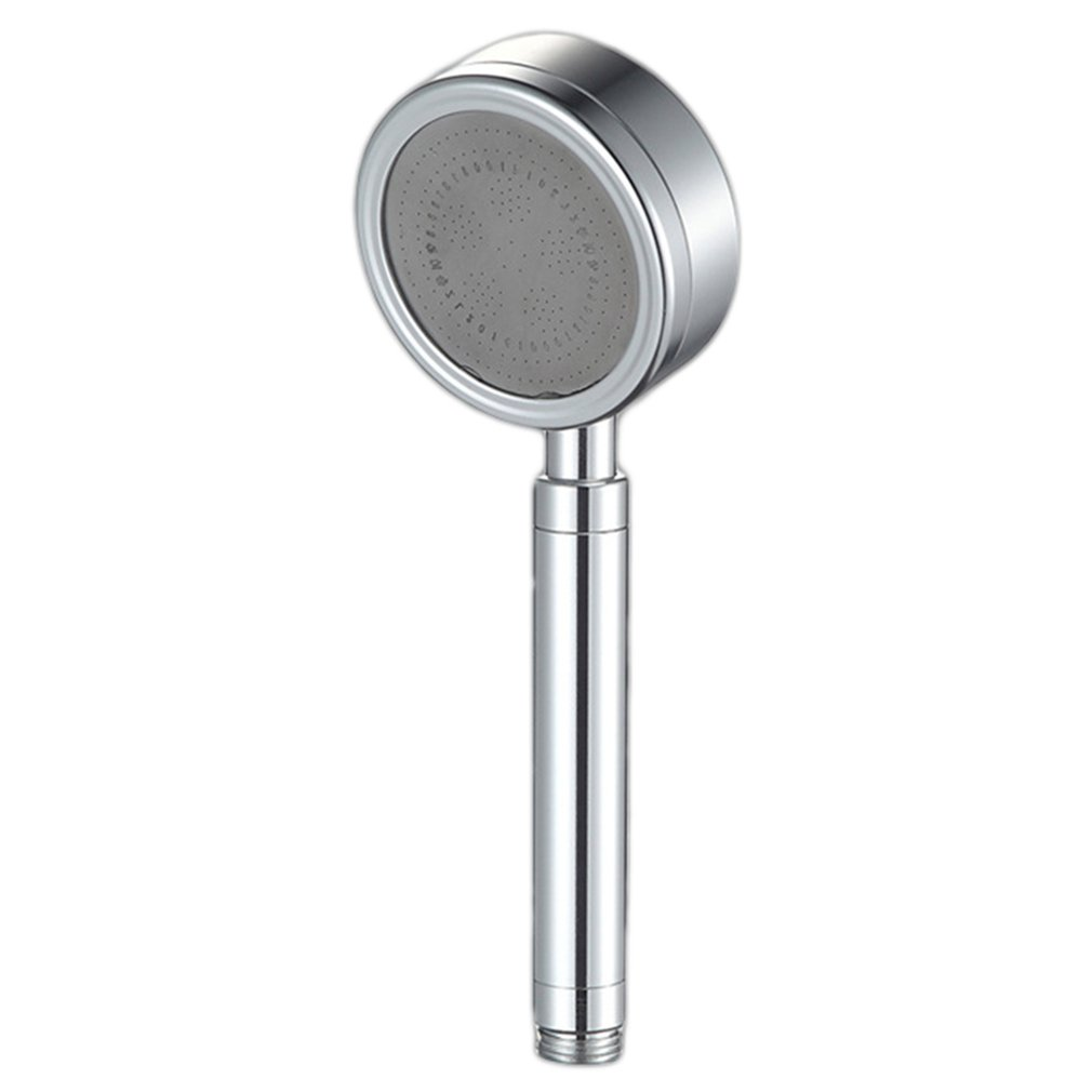 Space Aluminum Hand Shower Bathroom Booster Water Saving Nozzle Shower Head Health Care Hand Held Plastic