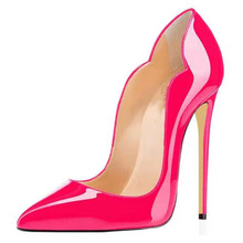 AGODOR 2020 Patent Leather Pointed Toe Stiletto Sexy Party High Heels Pumps Thin High Women Shoes 2016 new fashion high heels 6cm patent leather pointed toe women pumps party wedding work sexy ladies stiletto shoes 706
