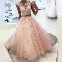 Angelsbridep 2 Pieces Quinceanera Jurken Vestidos De 15 Anos Fashion Applique Tulle Prinses Verjaardag Partij Jassen Hot