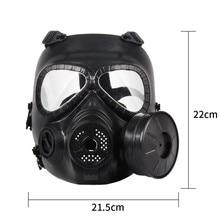 Gas Mask Live Human Cs Field Equipment Helmet Seal Commando Tactical Army Fan Eat Chicken Hunting
