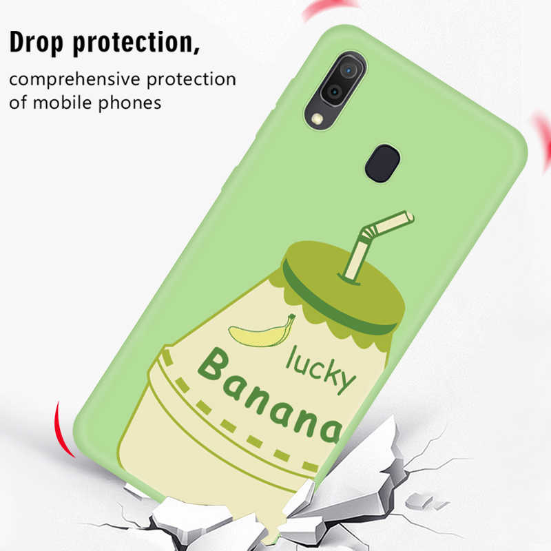 TPU Hoa Văn Ốp Lưng Dành Cho Samsung Galaxy Samsung Galaxy A50 2019 Bao Da Silicone Mềm Dành Cho Samsung A30 A50 A70 In Trường Hợp trên 30 50 70 CapA