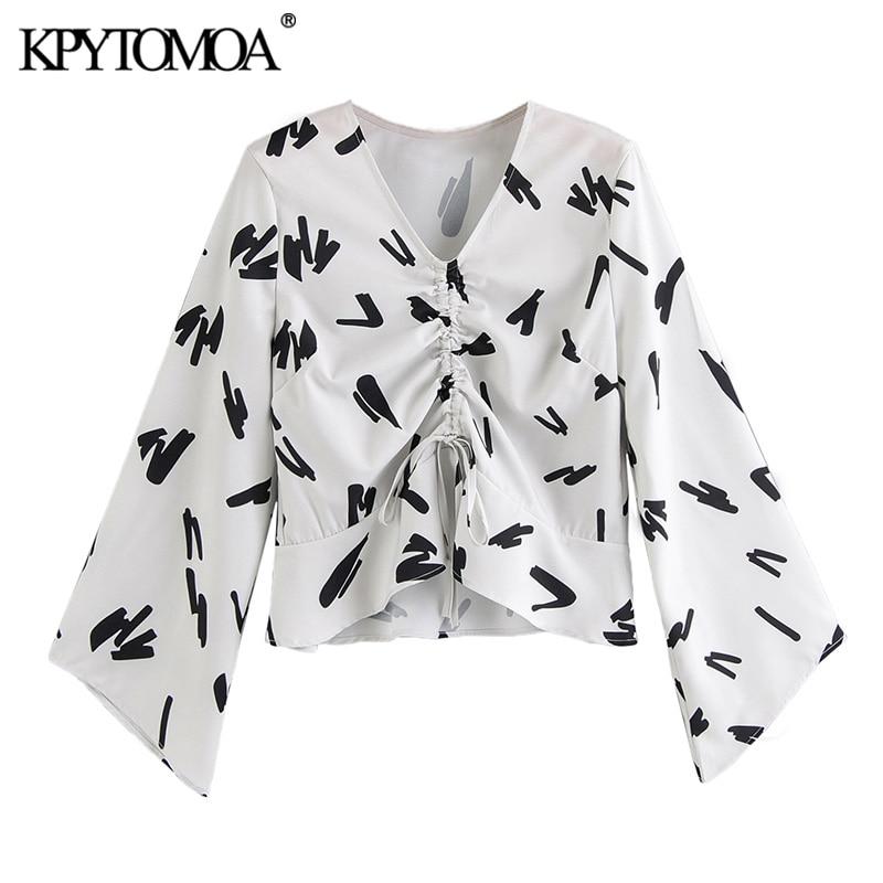 MOA USA Ruffle Collar Animal Leopard Printed Tops NEW