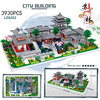 Classical house nanobricks Chinese Traditional Architecture micro daimond block Suzhou Gardens building bricks toy collection