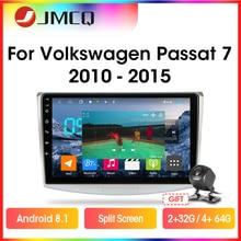 Multimedia Car-Radio VW Android Volkswagen Passat 2-Din Video-Player Navigaion JMCQ RDS
