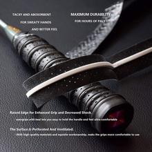2 шт. Нескользящая повязка для бадминтона тенниса велосипеда тенниса ручки захват лента дышащий спорт захват ракетка над над бадминт X8S6