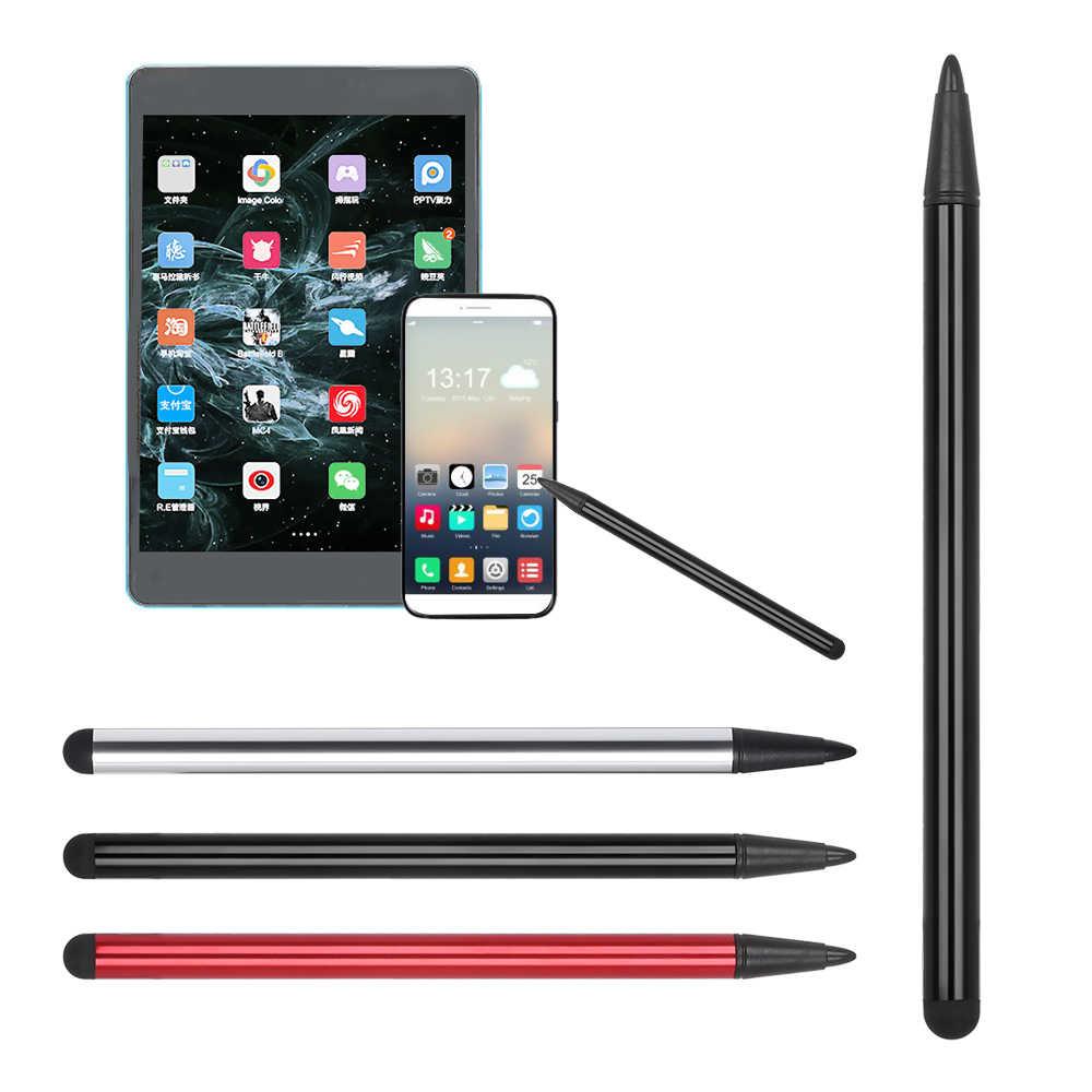 מכירה לוהטת 2 ב 1 כפול סוף tablet עט עבור Ipad מגע מסך עט חרט אוניברסלי עבור Iphone ipad עבור סמסונג Tablet טלפון מחשב