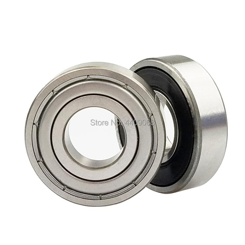 10-PCS 628 8*24*8mm Ball Bearing Double Shielded Miniature High-carbon Steel Single Row Ball Bearing image