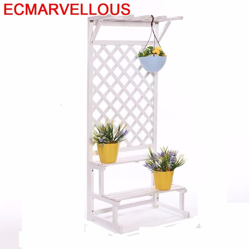 Suporte Flores Estante Para Plantas Scaffale Porta Piante Varanda Pot Balcony Stojak Na Kwiaty Flower Shelf Rack Plant Stand